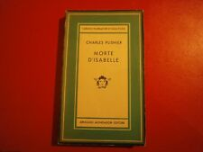 "Plisnier  Charles ""Morte d'Isabelle"" – Medusa - Mondadori, 1950"