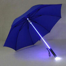 LED Luminous Umbrella Blade Runner Star Wars Colorful Transparent With Flashligh