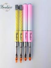 Ombre Nail Art Brush Pen Nail Design Manicure Dotting Tools Gel Polish UK