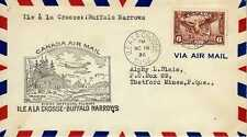 CANADA 1ers vols first flights airmail 94
