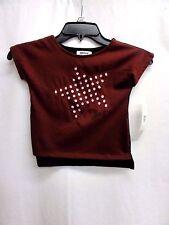 DKNY Baby Girl's Short Sleeve T-shirt, Size 3T