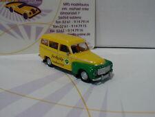 """Brekina 29321 # volvo duo encadré année modèle 1955 """"BP"""" en jaune-vert 1:87 Nouveau"""