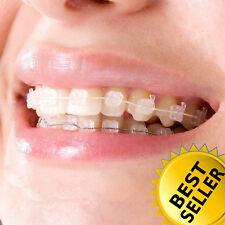 Dental Orthodontic Self Ligating Metal Sapphire Ceramic Bracket Roth Mbt 018022