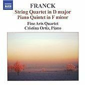 Cesar Franck String Quartet and Piano Quintet CD *NEW*