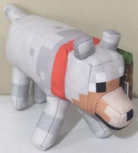 Brand New Minecraft Plush Wolf Soft Toy Doll 35cm