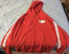 Red thrasher jacket size medium