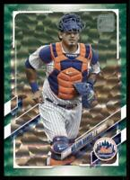 2021 Topps Series 1 Base Green #127 Wilson Ramos /499 - New York Mets