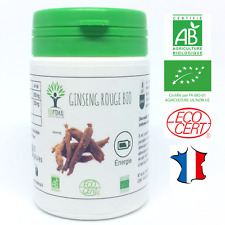 GINSENG ROUGE BIO 60 GELULES COMPLEMENT ALIMENTAIRE NUTRITION BIOPTIMAL ENERGIE