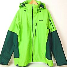 Patagonia Green Torrentshell Parka Hooded Rain Jacket Fluid Green Men's Size XL