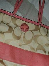 Coach bag borsa rosa