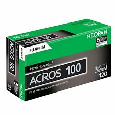Fujifilm Neopan Nero & Bianco Professional Acros ISO 100 120 – 5 ROTOLI