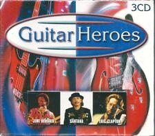 Guitar Heroes (2000) BOX 3 CD NUOVO Jimi Hendrix, Eric Clapton, Mark Knopfler,