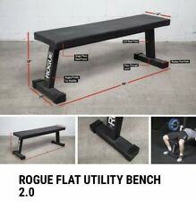 ROGUE FLAT UTILITY BENCH 2.0 ** NEW ** FAST SHIPPING **