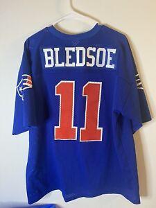 Vintage Logo 7 Drew Bledsoe New England Patriots #11 Shirt Mens Size XL Jersey