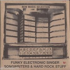 NEW MUSIC SELECTION Funky Electronic Singer - Songwriters - Hard Rock CD - PROMO