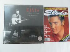 65th Anniversary Of Elvis Presley Magazine 2000 Collector's Edition and Calendar