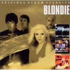 """BLONDIE """"Original Album Classics"""" 3 CD NUOVO"""
