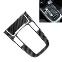 Carbon Fiber Center Console Gear Shift Panel Decor Trim For 09-16 Audi A4L A5 Q5