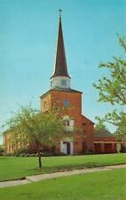 SHREVEPORT, LA Louisiana BROWN MEMORIAL CHAPEL~Centenary College Chrome Postcard