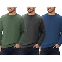 NEW!!! G.H. Bass Men's Pullover Crew Sweatshirt Size & Color VARIETY!!!