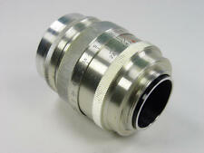 1961 made Silver Rangefinder 85mm f/2 lens JUPITER-9 Zorki Leica M39 s/n 6106015