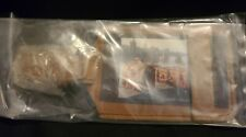 NEW IN THE PACKAGE SADDLEBACK LEATHER CO LUGGAGE ID TAG SCRIPT LOGO TOBACCO