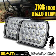 "7x6"" LED Headlight Sealed Beam lamp For Chevy Express Cargo Van 1500 2500 3500"