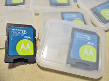 Motorola Micro SD Card (TF) Adapter with Storage Case