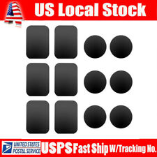 12PCS Metal Plate Replacement For Magnetic Car Mount Magnet Cell Phone Holder