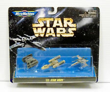 Star Wars Micro Machines Collection III 3 Galoob 1994 Xwing Y wing Tie Bomber