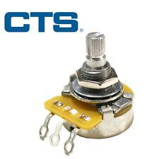 NEW EP086 CTS 500K Short Split Shaft Audio Pot Potentiometer, USA Guitar or Bass