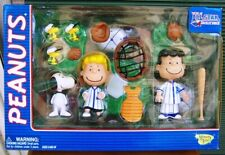 Peanuts Baseball All Star - Deluxe Blue Playset - Lucy - Schroeder - Snoopy