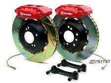 Brembo FRONT GT Brake 4 Pot Red 328x28 Slot CL 01-03 TL 99-03 Accord V6 98-02