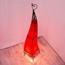 Orientalische Hennalampe Stehleuchte Lampe Orient Marokkanische LSC_Rot H100 cm