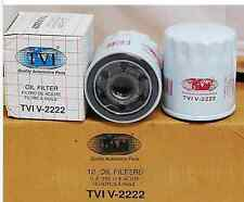 Case of 12 TVI V-2222 Oil FIlters / L12222 / PH10060 / PZ167 / VO88 / T62