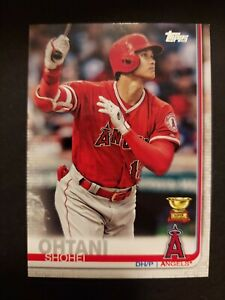 2019 Topps - #250 Shohei Ohtani Rookie Gold Cup - Los Angeles Angels