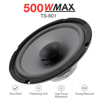 "Universal 6"" inch 500W HiFi Coaxial Stereo Speakers Car Door Audio Subwoofer"