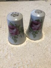Lefton Vintage Hand Painted Salt And Pepper Shakers