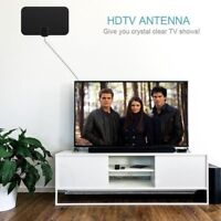 Digital HDTV Indoor Freeview Antenna with TV Aerial  50 Mile Range-Thin hi