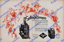 Orig. publicité AGFA kinagfa Home Cinéma movector caméra MOVEX schmalfilm Berlin 1931