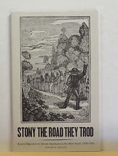 Stony the Road They Trod 2002 Forced Migration of Slaves in US South Slavery