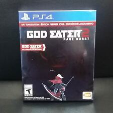 God Eater 2 Rage Burst (Day One Edition) PS4 Game English - US version