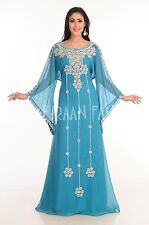 MODERN FANCY FARASHA JILBAB ARABIAN FORM WOMEN DUBAI CAFTAN ISLAMIC DRESS 138