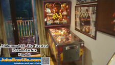 Muhammad Ali Pinball Machine / Memorabilia - Beautiful with Warranty