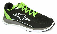 Alpinestars Casual Trainers - 100 Running Shoes Black/Green Ankle Shoe