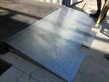 FORKLIFT RAMP SHIPPING CONTAINER ENTRY GALVANISED