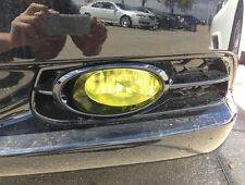 PreCut Vinyl Tint YELLOW Overlays for 2012-2015 Civic COUPE Fog light