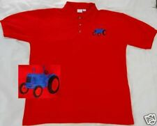 Fordson Major Tractor embroidered on Polo Shirt