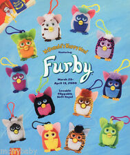2000 McDONALDS FURBYS 2 -  Set of 12   (NP) Mint