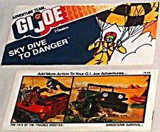 GI JOE HASBRO MINI COMIC GIVEAWAY PROMO 1970s SKY DIVE TO DANGER NM SKYDIVE